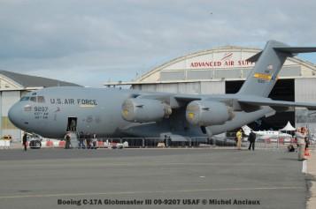 380 Boeing C-17A Globmaster III 09-9207 USAF © Michel Anciaux