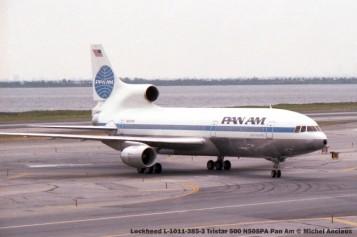 539 Lockheed L-1011-385-3 Tristar 500 N505PA Pan Am © Michel Anciaux