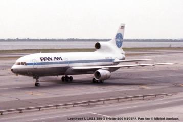 540 Lockheed L-1011-385-3 Tristar 500 N505PA Pan Am © Michel Anciaux