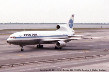 540 Lockheed L-1011-385-3 Tristar 500 N505PA Pan Am © Michel Anciaux