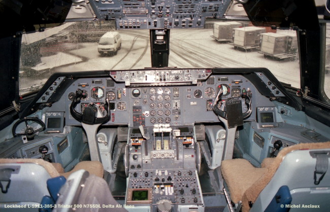 543 Lockheed L-1011-385-3 Tristar 500 N755DL Delta Air lines © Michel Anciaux