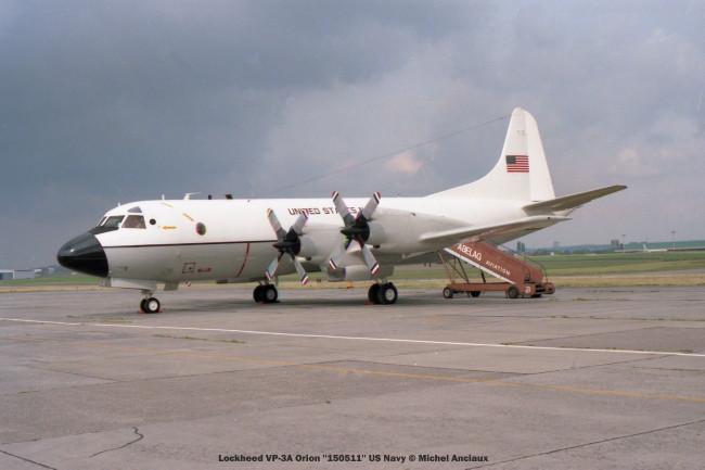 551 Lockheed VP-3A Orion ''150511'' US Navy © Michel Anciaux