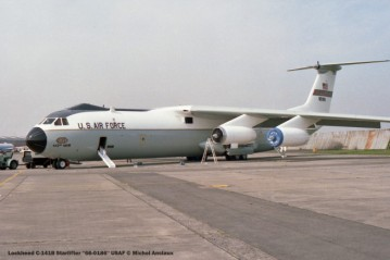 604 Lockheed C-141B Starlifter ''66-0186'' USAF © Michel Anciaux