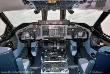 609 Lockheed C-141B Starlifter ''66-0186'' USAF © Michel Anciaux Composición