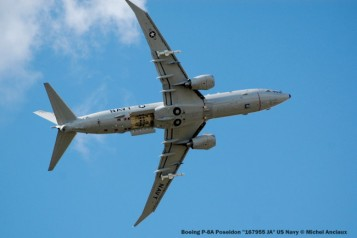 781 Boeing P-8A Poseidon ''167955 JA'' US Navy © Michel Anciaux