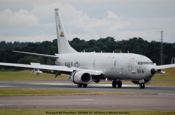 785 Boeing P-8A Poseidon ''167955 JA'' US Navy © Michel Anciaux
