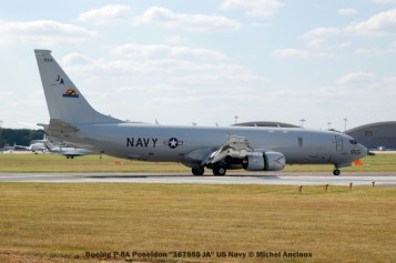 786 Boeing P-8A Poseidon ''167955 JA'' US Navy © Michel Anciaux
