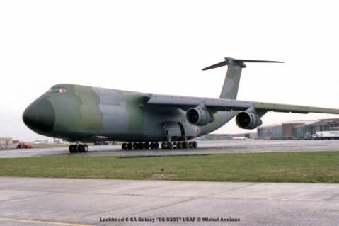 806 Lockheed C-5A Galaxy ''66-9307'' USAF © Michel Anciaux