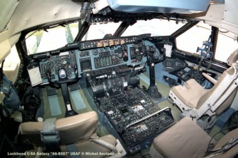 820 Lockheed C-5A Galaxy ''66-9307'' USAF © Michel Anciaux