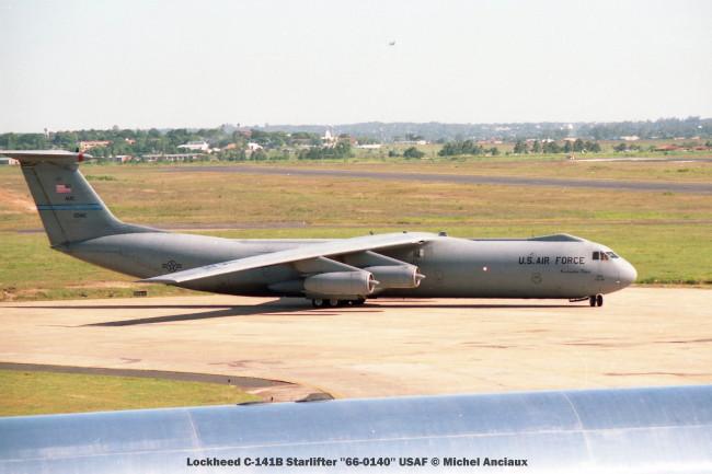 img Lockheed C-141B Starlifter ''66-0140'' USAF © Michel Anciaux