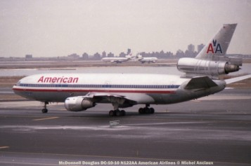 img228 McDonnell Douglas DC-10-10 N122AA American Airlines © Michel Anciaux
