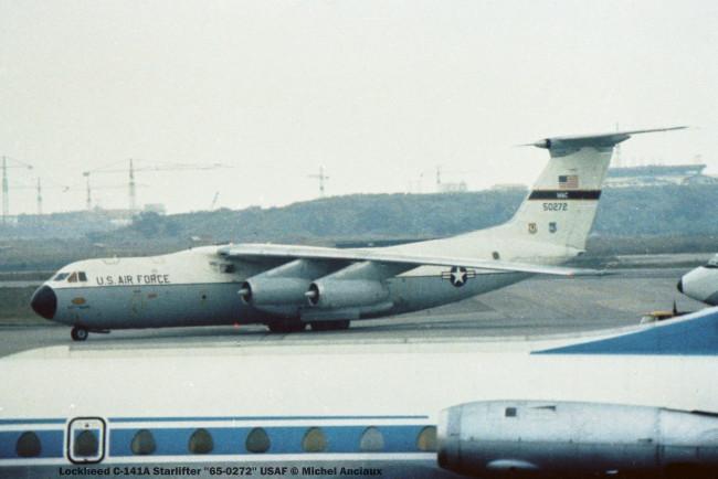 img419 Lockheed C-141A Starlifter ''65-0272'' USAF © Michel Anciaux