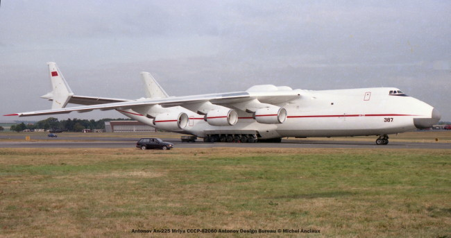 img451 Antonov An-225 Mriya CCCP-82060 Antonov Design Bureau © Michel Anciaux