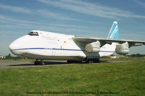 img453 Antonov An-124-100 Ruslan UR-82073 Antonov Airlines © Michel Anciaux