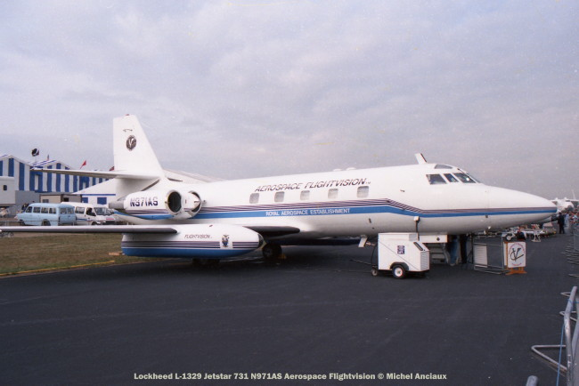img481 Lockheed L-1329 Jetstar 731 N971AS Aerospace Flightvision © Michel Anciaux