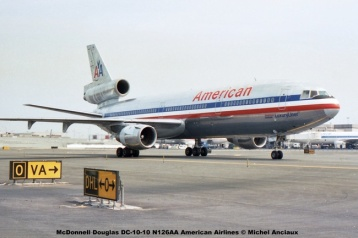img582 McDonnell Douglas DC-10-10 N126AA American Airlines © Michel Anciaux