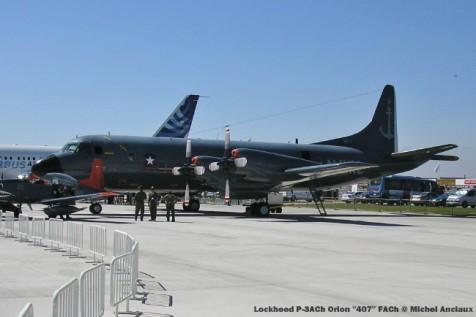 img788 Lockheed P-3ACh Orion ''407'' FACh © Michel Anciaux