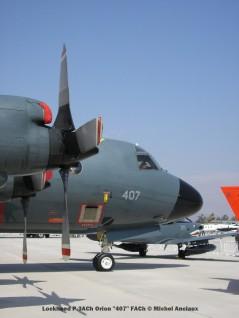 img789 Lockheed P-3ACh Orion ''407'' FACh © Michel Anciaux