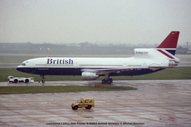 img932 Lockheed L1011-200 Tristar G-BHBO British Airways © Michel Anciaux