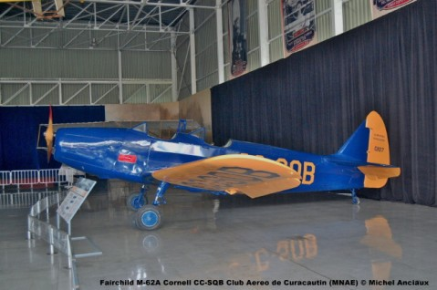 004 Fairchild M-62A Cornell CC-SQB Club Aereo de Curacautin (MNAE) © Michel Anciaux
