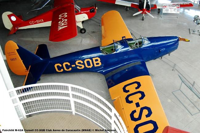 008 Fairchild M-62A Cornell CC-SQB Club Aereo de Curacautin (MNAE) © Michel Anciaux