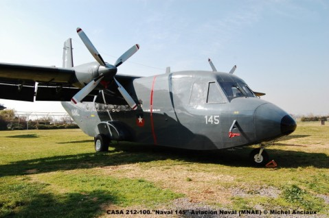 019 CASA 212-100 ''Naval 145'' Aviación Naval (MNAE) © Michel Anciaux