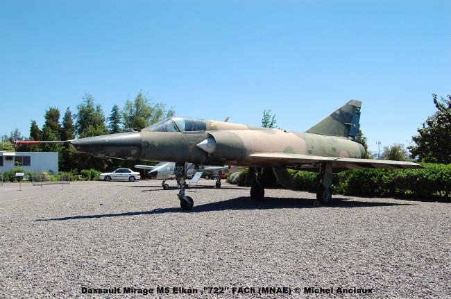 022 Dassault Mirage M5 Elkan ,''722'' FACh (MNAE) © Michel Anciaux
