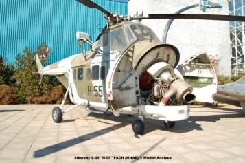 037 Sikorsky S-55 ''H-55'' FACH (MNAE) © Michel Anciaux