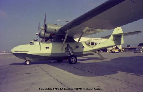 1368 Consolidated PBY-5A Catalina N68740 © Michel Anciaux