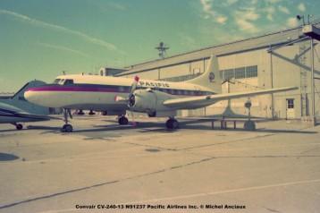 626 Convair CV-240-13 N91237 Pacific Airlines Inc. ® Michel Anciaux