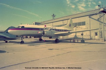 626 Convair CV-240-13 N91237 Pacific Airlines Inc. ® Michel Anciaux