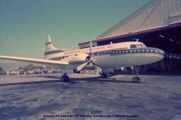 627 Convair CV-240-0 N112T Van Pac Carriers Inc. © Michel Anciaux