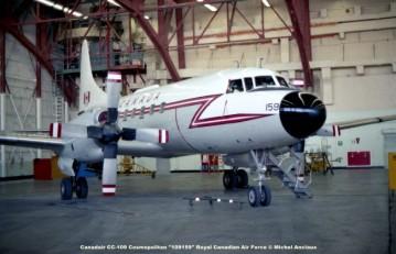 639 Canadair CC-109 Cosmopolitan ''109159'' Royal Canadian Air Force © Michel Anciaux
