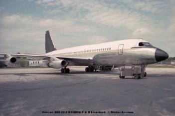 640 Convair 880-22-2 N880WA F & B Livestock © Michel Anciaux