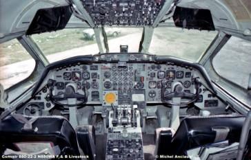 641 Convair 880-22-2 N880WA F & B Livestock © Michel Anciaux