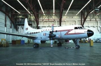 642 Canadair CC-109 Cosmopolitan ''109159'' Royal Canadian Air Force © Michel Anciaux