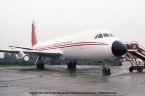 645 Convair 880-22M-22 N4339D General Dynamics Corporation © Michel Anciaux
