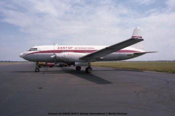 645 Convair CV-640(F) N3417 Zantop International © Michel Anciaux