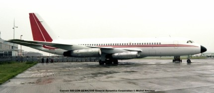 646 Convair 880-22M-22 N4339D General Dynamics Corporation © Michel Anciaux