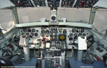 646 Convair CV-640(F) N3417 Zantop International © Michel Anciaux