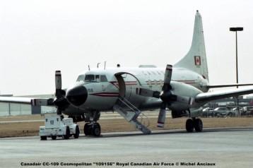 647 Canadair CC-109 Cosmopolitan ''109156'' Royal Canadian Air Force © Michel Anciaux