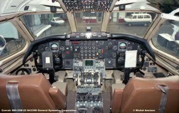 647 Convair 880-22M-22 N4339D General Dynamics Corporation © Michel Anciaux