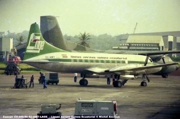 647 Convair CV-440-80 EC-AMT LAGE - Lineas Aereas Guinea Ecuatorial © Michel Anciaux