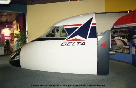649 Convair 880-22-1 ex N871TW TWA ,prototype CV-880 © Michel Anciaux