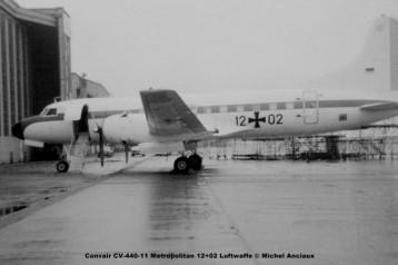 650 Convair CV-440-11 Metropolitan 12+02 Luftwaffe © Michel Anciaux