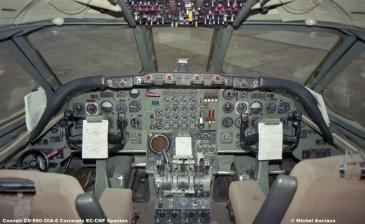 650 Convair CV-990-30A-6 Coronado EC-CNF Spantax © Michel Anciaux
