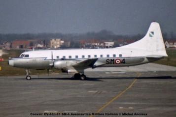 651 Convair CV-440-81 SM-4 Aeronautica Militare Italiana © Michel Anciaux