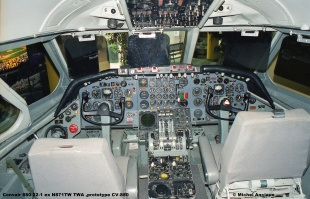 657 Convair 880-22-1 ex N871TW TWA ,prototype CV-880 © Michel Anciaux