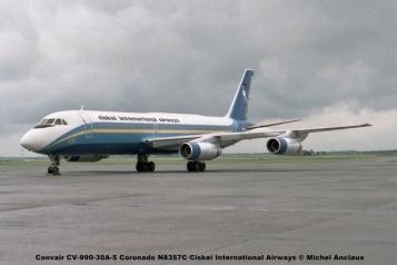 660 Convair CV-990-30A-5 Coronado N8357C Ciskei International Airways © Michel Anciaux