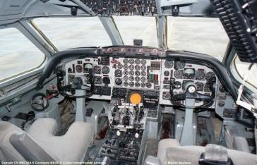 664 Convair CV-990-30A-5 Coronado N8357C Ciskei International Airways © Michel Anciaux
